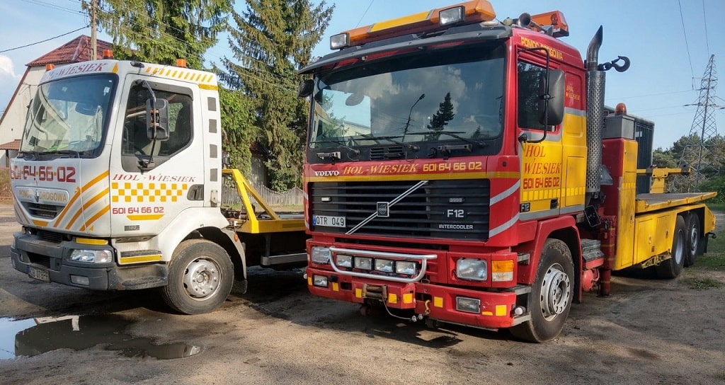 Pomoc Drogowa do Samochodów cieżarowych
